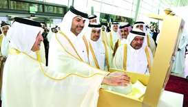 Prime Minister opens Doha Jewellery and Watches Exhibition