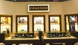The Concord booth and some of the watches on display. PICTURES: Shemeer Rasheed