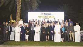 Snapshots from the reception in Doha.