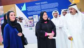 Tariq Bin Ziad School was reopened under the umbrella of QF, with His Highness the Father Amir Sheik