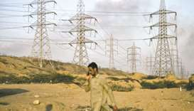 Bin Qasim Power Station II plant in Karachi.