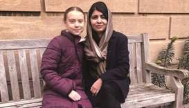 When Greta met Malala: activists pictured at Oxford