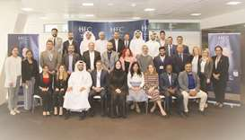 HEC Paris in Qatar welcomes International Executive MBA Class of 2021.