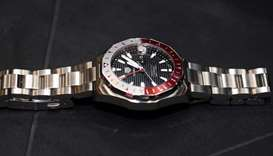 The special limited-edition GMT Aquaracer from Tag Heuer. PICTURE Shemeer Rasheed and supplied