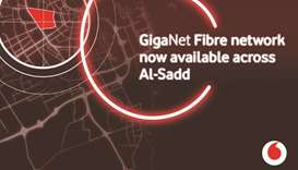 Vodafone Qatar's Al Sadd GigaNet roll-out complete