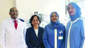 Sidra Medicine - Cervical Screening Clinic team.