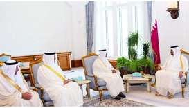 Deputy Amir meets new GCC chief