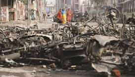 Councillor booked for alleged role in Delhi riots