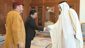 Amir meets adviser to Morocco king