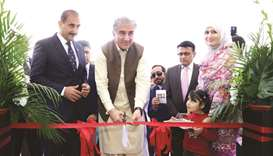 Pakistan minister opens embassy's new building in Diplomatic Area