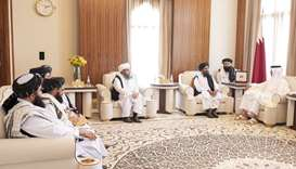 Amir meets leader of Taliban political office