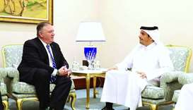FM meets US secretary of state