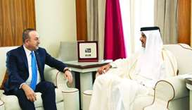 Amir meets Turkish FM