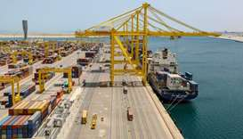 Container traffic through Qatar ports 6.26mn tonnes at end of December