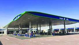 The new Al Mearad-2 Petrol Station.