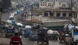 NW Syria violence displaces 500,000 in two months