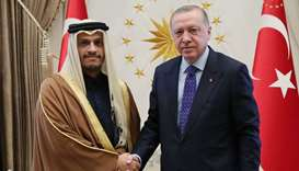 Turkish president meets FM