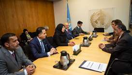 Minister of Public Health meets with UN health body chief