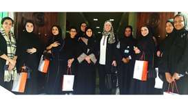 Ehsan Center organises field visit for QU students