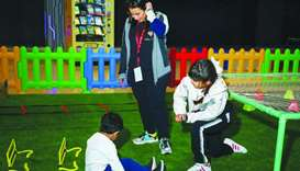 The NSD activities at Doha Festival City caters to different age groups