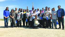 Cleanliness initiative at Simaisma Beach