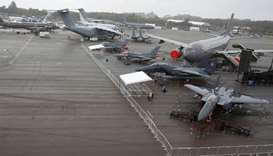 Singapore Airshow hit by virus fears as 70 exhibitors pull out