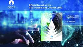 GECF to unveil latest edition of flagship publication 'Global Gas Outlook 2050'