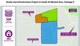 Ashghal begins works on QR544mn Roads and Infrastructure Project in South Al Meshaf