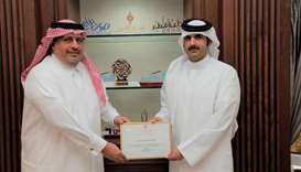 QMC honours Gulf Times for Covid awareness campaign