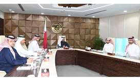 HE the Secretary-General of the Ministry of Foreign Affairs Dr. Ahmed bin Hassan Al Hammadi heads Qa