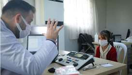 Qatar Charity provides hearing aids for Syrian refugees