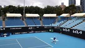 Melbourne starts five-day virus lockdown, no spectators at Australian Open