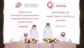 Qatargas, Qatar University sign MoU for collaboration in research, consultancy and knowledge transfer