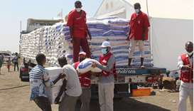 QRCS provides food, nonfood aid for 27,000 Ethiopian refugees in Sudan