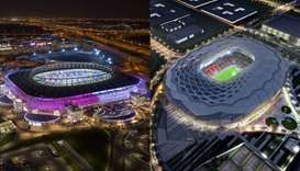 Ahmad Bin Ali stadium and Education City stadium