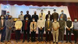 Indian Sports Centre's new managing committee and advisory council members.