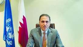 HE the Permanent Representative of Qatar in Geneva Ambassador Ali Khalfan al-Mansouri,