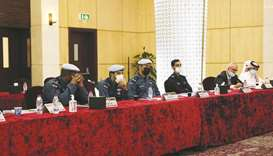 The 10-day course saw 22 officers from the Ministry of Interior, Lekhwiya, and Qatar Rail participat