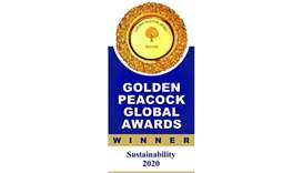 Doha Bank wins Golden Peacock Global Award 2020 for Sustainability