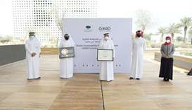 Qatar Foundation HQ awarded GSAS gold certificate