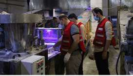 QRCS supports public health, food security in northern Syria