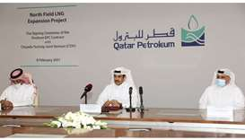 QP signs deal for $28.75bn mega LNG expansion at North Field