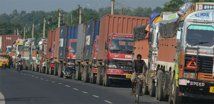 Nepal police clear border blockade by force