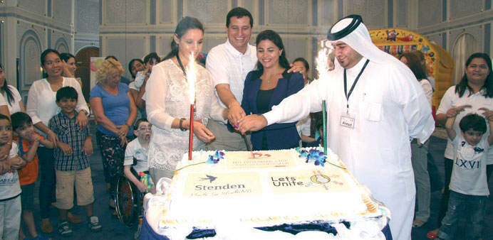 Diplomatic Club sponsors event for special needs kids