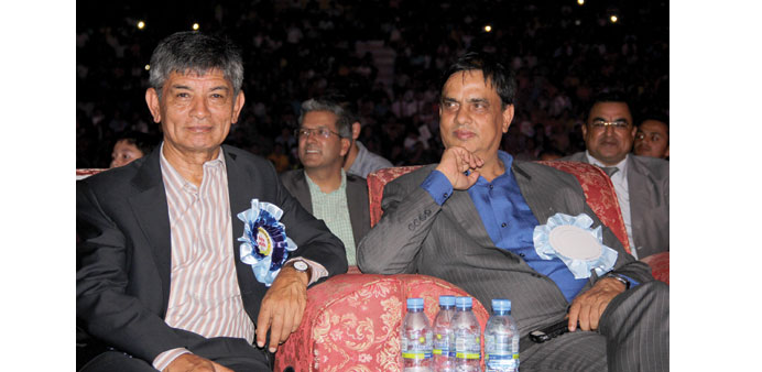 Up close with Nepal's legendary comedy duo