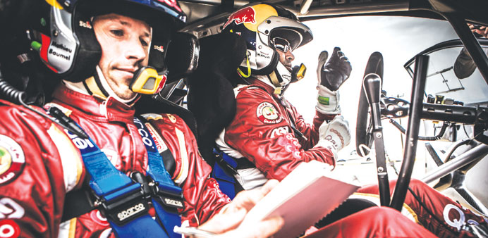 Al-Attiyah in control after opening day of Kuwait rally