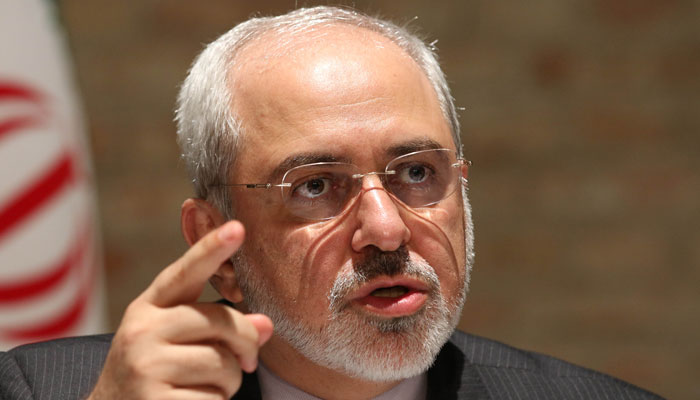 'US sanctions on Zarif will deter efforts to end row through talks'