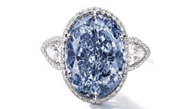 Rare oval diamond expected to fetch $35mn in Hong Kong sale