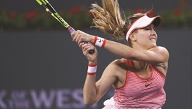 Genie's comeback gathers steam at Indian Wells