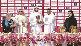 Rassan run smashes field for Doha Cup win